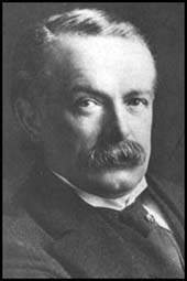 David Lloyd George, 1863 - 1945. A British Liberal politician and statesman, Lloyd George is remembered for setting up the British welfare state. His bias against large landholders was apparent.