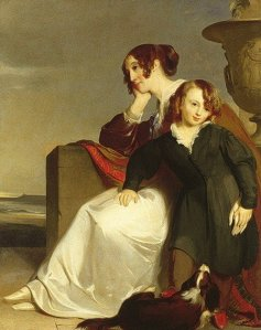 1840 Thomas Sully (1783-1872). Mother & Son. Metropolitan Museum of Art