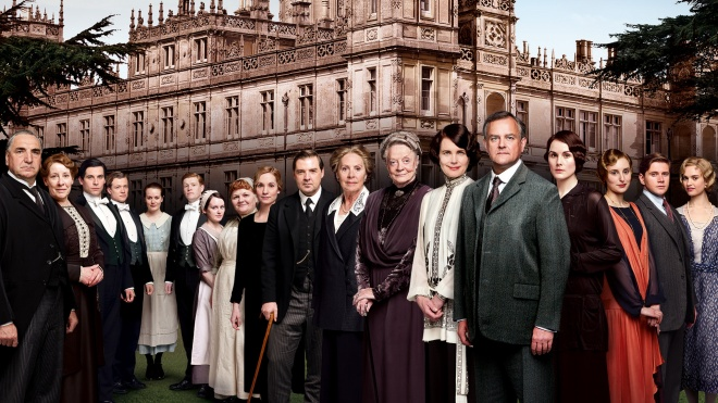 Cast of Downton Abbey Season Four