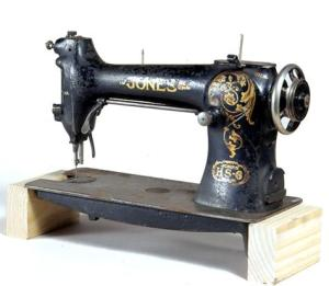 Sewing machine manufactured in England in the 1920s