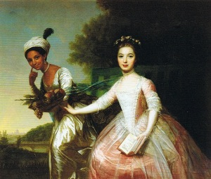 The famous picture of Dido and Elizabeth that captured the attention of 'Belle' Director, Amma Asante.