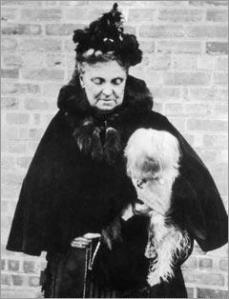 Hetty Green, circa 1900.