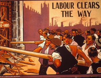 Poster Issued by the Labour Party in 1910